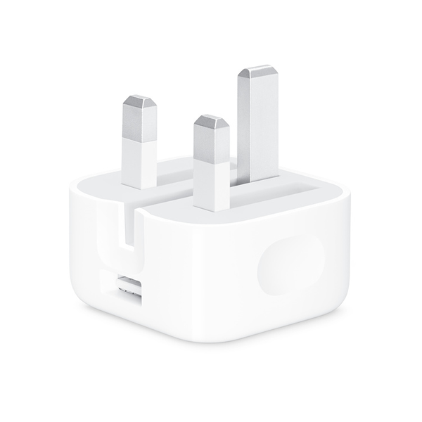 Apple 5W Power Adapter Folding Pins UK iCare Store