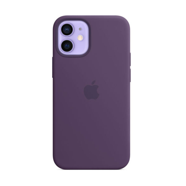 32 Apple Silicone Case Iphone 12 Mini Amethyst Icare Store