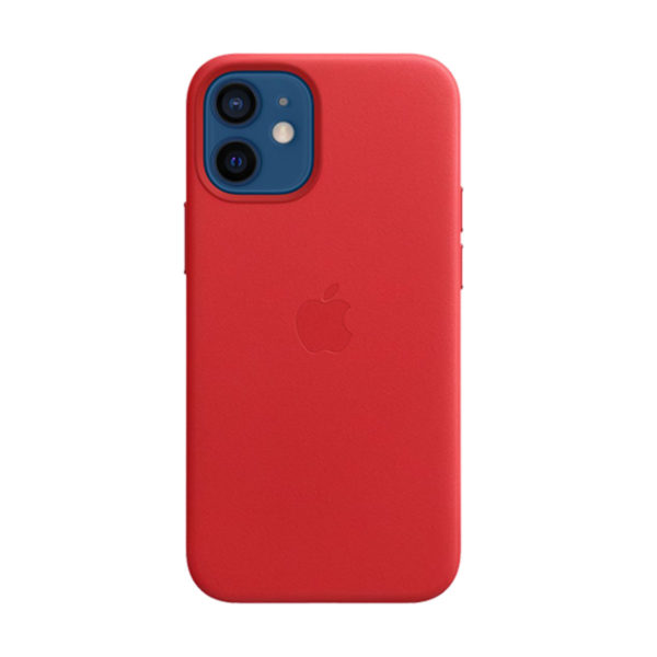 38 Apple Leather Case Iphone 12 Mini Product Red Icare Store