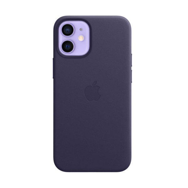 58 Apple Leather Case Iphone 12 : 12 Pro Deep Violet Icare Store