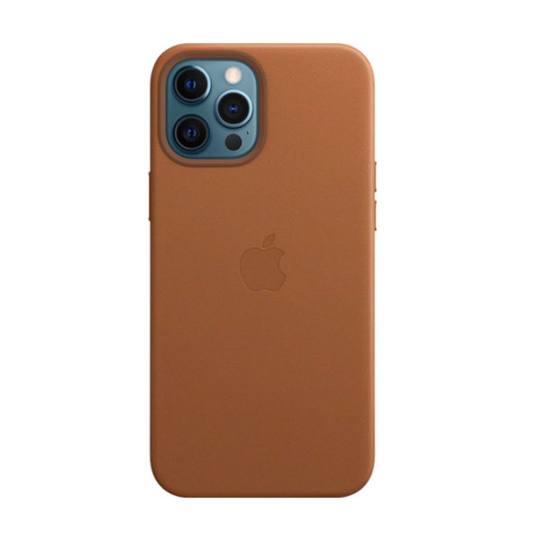 74 Apple Leather Case Iphone 12 Pro Max Saddle Brown Icare Store