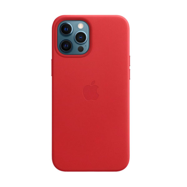 76 Apple Leather Case Iphone 12 Pro Max Product Red Icare Store
