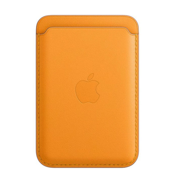 79 Apple Leather Wallet California Poppy Icare Store